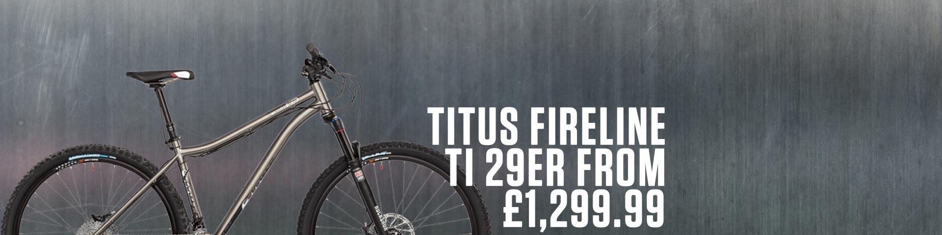 Tiutus Fireline Ti 29er