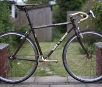 Golden Brown. bike photo