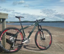 Green Trail Rocket bike photo