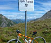 Orange Beast bike photo