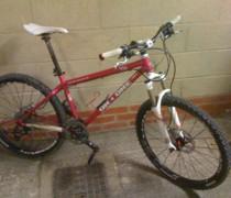 Super Pink 456 bike photo