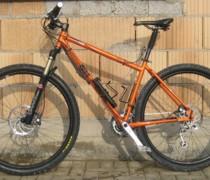 Orange Inbred 29er bike photo