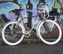 Golden Brown bike photo