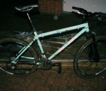 Glowing 456 bike photo