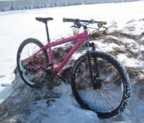 Big Pink bike photo
