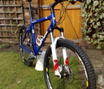 Blue Blitz bike photo