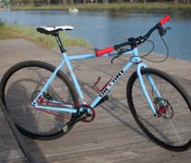 Pompetamine Baby Blue & Red bike photo