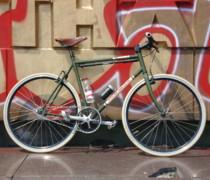 Restyled bike photo