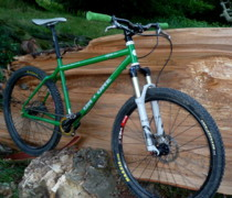 Refreshing Change From Full Susser bike photo