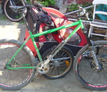 Snot Off A Shovel- & In Yer Visage! bike photo
