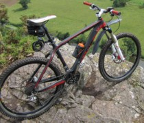 STOLEN: Carbon 456 Matt Red/black Near Godalming, Surre bike photo