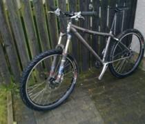 The Ti One bike photo