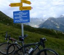 Tour Du Mont Blanc bike photo