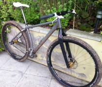 Ti 29er bike photo