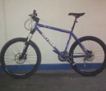 Blue Beastie bike photo