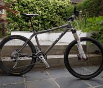 Inbred 456 Titanium bike photo
