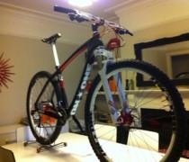 Carbon 29er bike photo