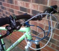 Big Green bike photo
