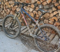 Mud Garron bike photo