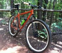 Big Orange bike photo
