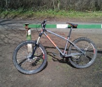 The Hardtail, The Gimp bike photo