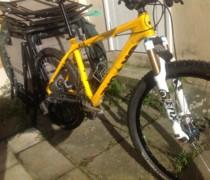 Yellow Peril bike photo
