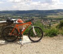 My Old Orange On One bike photo