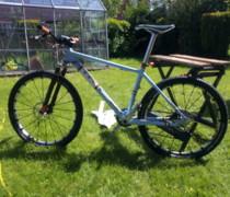 Baby Blue bike photo
