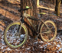 Mean Green Machine ;) bike photo