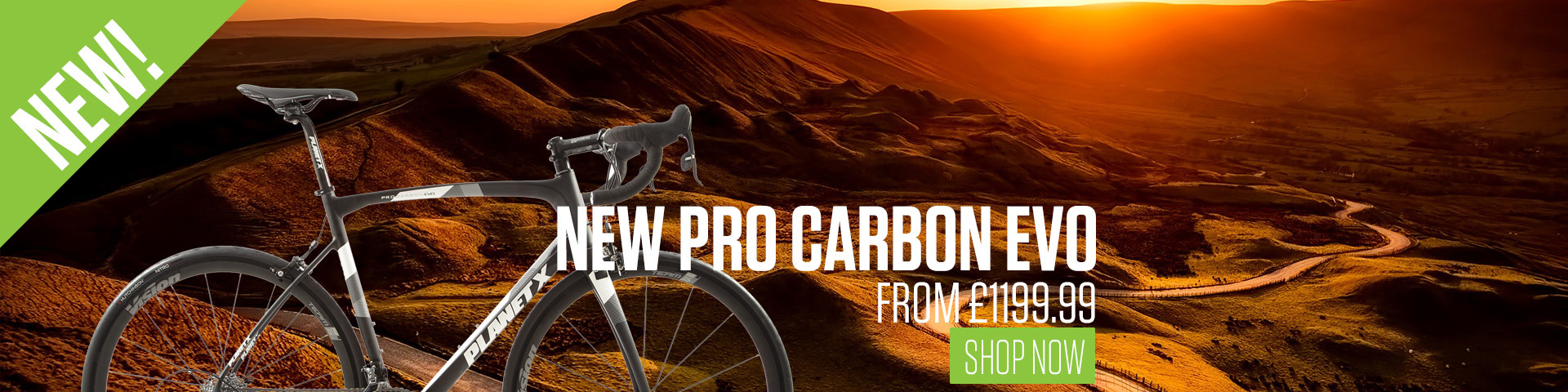 New Planet X Pro Carbon Evo Road BIke
