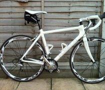 White Lightening bike photo