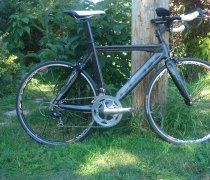 New Tri Machine bike photo