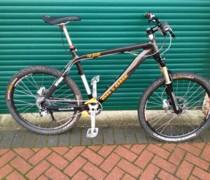 Custom Carbon 456 bike photo