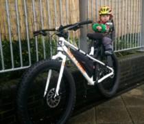 Daddy's Fatty bike photo