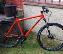 Tangerine Dream bike photo