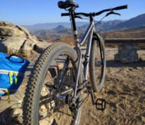 Single Speed Ti 29er! W/ Carbon Enve Fork bike photo