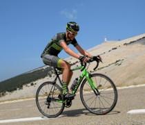Faded Green bike photo
