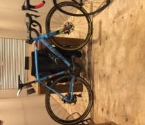 The 'cross' Machine bike photo