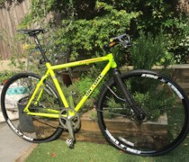 The First Pompetamine bike photo