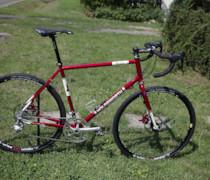 Red Stelvio bike photo