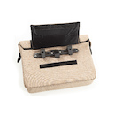 Vincita Mens Single Shoulder Strap Pannier Bag With Handle And Concealable Clip-On System
