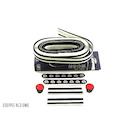 Bike Ribbon Professional Handlebar Tape / Neon / Black & White Stripes