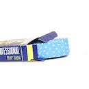 Bike Ribbon Professional Handlebar Tape / Smooth Polka Dots / Blue