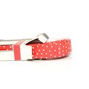 Bike Ribbon Professional Handlebar Tape / Smooth Polka Dots / Red