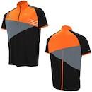 Briko MTB Short Sleeve Jersey / Small / Orange / Black / Grey