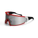 Briko Shot Evo Glasses / Red / White / Nastek Silver