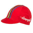 Campagnolo Classica Cotton Cycling Cap / One Size / Red
