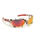 Carnac Metis Cycling Glasses (ANSI Z87.1) / Urban Camo / Smoke Red Revo / Orange OR80 / Transparent