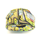 Carnac By Mombassa Cotton Cycling Cap Made By Apis / Beach BBQ