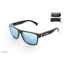 Carnac RSF Sunglasses / Black and Blue / Blue Revo